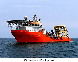 Offshore Diving Subsea Vessel
