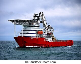 Offshore Diving Vessel