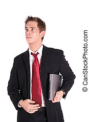 Ambitious Businessman - An aspiring businessman. All...