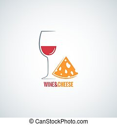 wine and cheese design vector background 8 eps