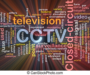 CCTV word cloud box package - Software package box Word...