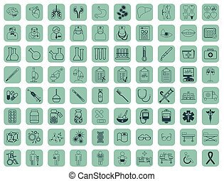 Medic icon vector illustration Medical vaccinations outline...