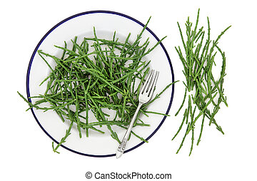Samphire Vegetable Health Food - Rock samphire vegetable...