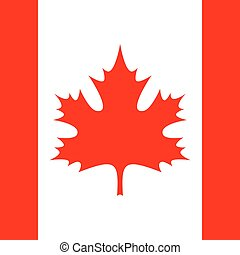 square - flag of Canada