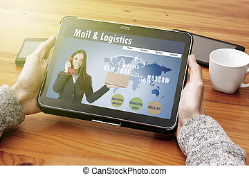 referring to the digital device and e-logistics