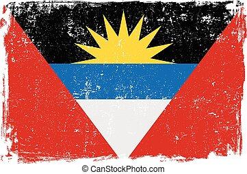 antigua and berbuda flag vectoreps - Antigua and Berbuda...