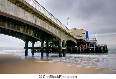 Bournemouth Pier - Bournemouth pier, Dorset UK - viewed from...