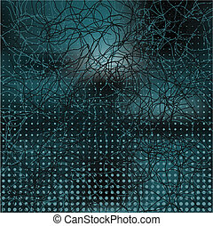 Abstract elegance background with dots