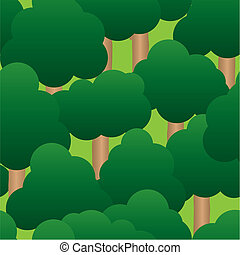 Abstract forest background Seamless pattern Vector...