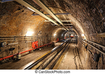 Old Tunnel Line from Karakoy to Istiklal Street, Istanbul