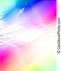 Multi coloured abstract background with smooth lines in it