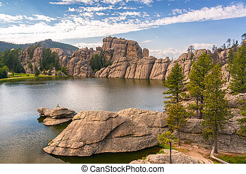 Sylvan Lake View - View of Sylvan Lake in Custer State Park
