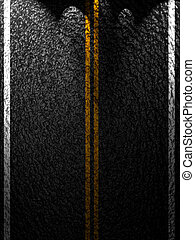 Asphalt background texture with some soft shades and spots