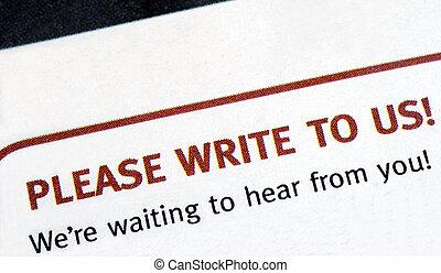 書きなさい, 提案しなさい, それら,  editors, 読者