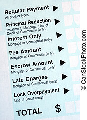 Make a payment on a bank payment slip