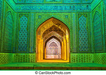 Entrance of Vakil Mosque in Shiraz, Iran