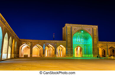 Vakil Mosque, a mosque in Shiraz, southern Iran.