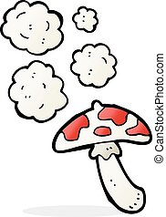 cartoon toadstool