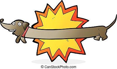 bang! it's a sausage dog
