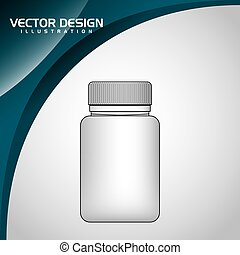 plastic bottle design - plastic bottle design, vector...