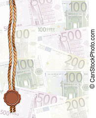 fondo,  euro