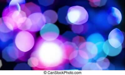 Pink Bokeh lights background