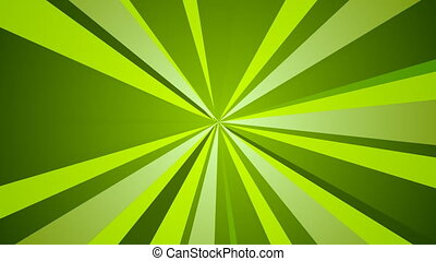 St. Patricks Day green beams abstract video animation - St....