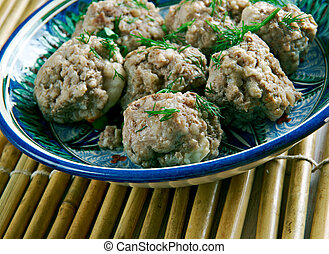Chicken Bakso - Indonesian and Timorese Meatballs - Chicken...