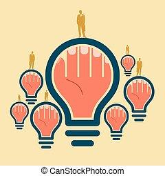 idea in mind