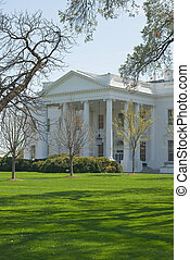 White House - North Portico of the White House in Washington