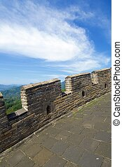 Great Wall - view of the Simatai Great Wall of China,...