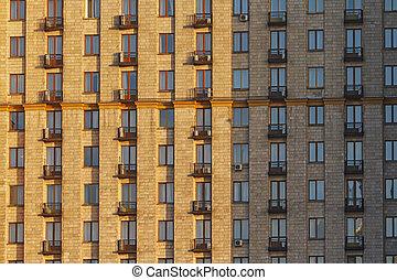 Windows, 房子, 很多