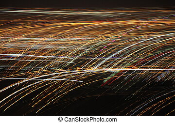 light speed blur