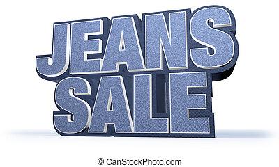 Jeans Sale Campaign Title