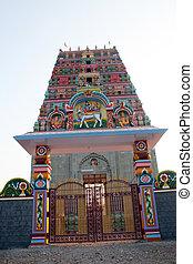 Ancient Temple Entrance