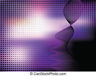 Abstract elegance background with dots Vector illustration...