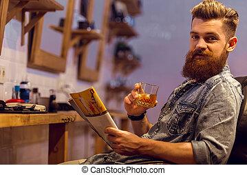 butik, barberare