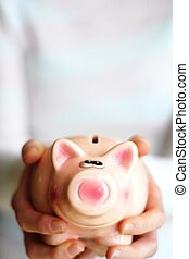 save money on your piggy bank