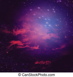 Abstractive Space Background - Dark space background with...