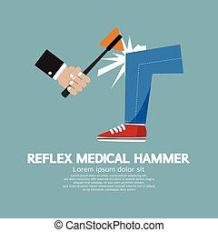 Reflex Medical Hammer - The Neurologist Using A Hammer To...