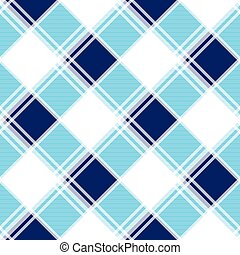 Navy Blue White Diamond Chessboard Background Vector...