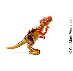 Rex,  tyrannosaurus,  -,  t-rex, 恐龍, 背景, 白色