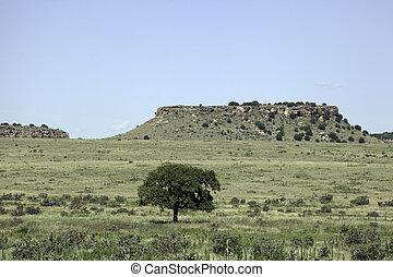 Mesa - A mesa in the Black Mesa area of Oklahoma