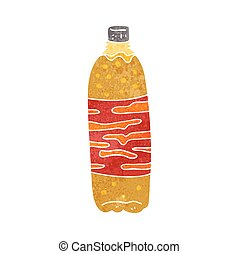 retro cartoon fizzy drink - freehand retro cartoon fizzy...