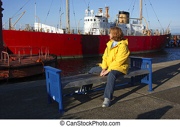 In Astoria Oregon - Visiting the maritime museums