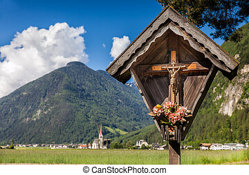 Christian wayside shrine in South Tyrol - Christian wayside...