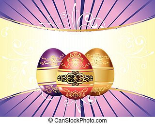 Decorative Easter Background