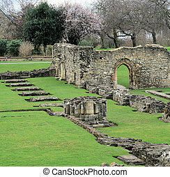 Lesnes Abbey in Abbye Wood, London