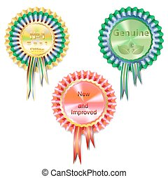 three medals - Set of three medals quality of different...
