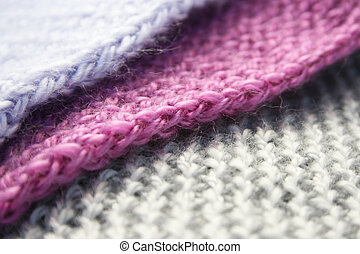 Knitwear - Colorful knitwear as a background